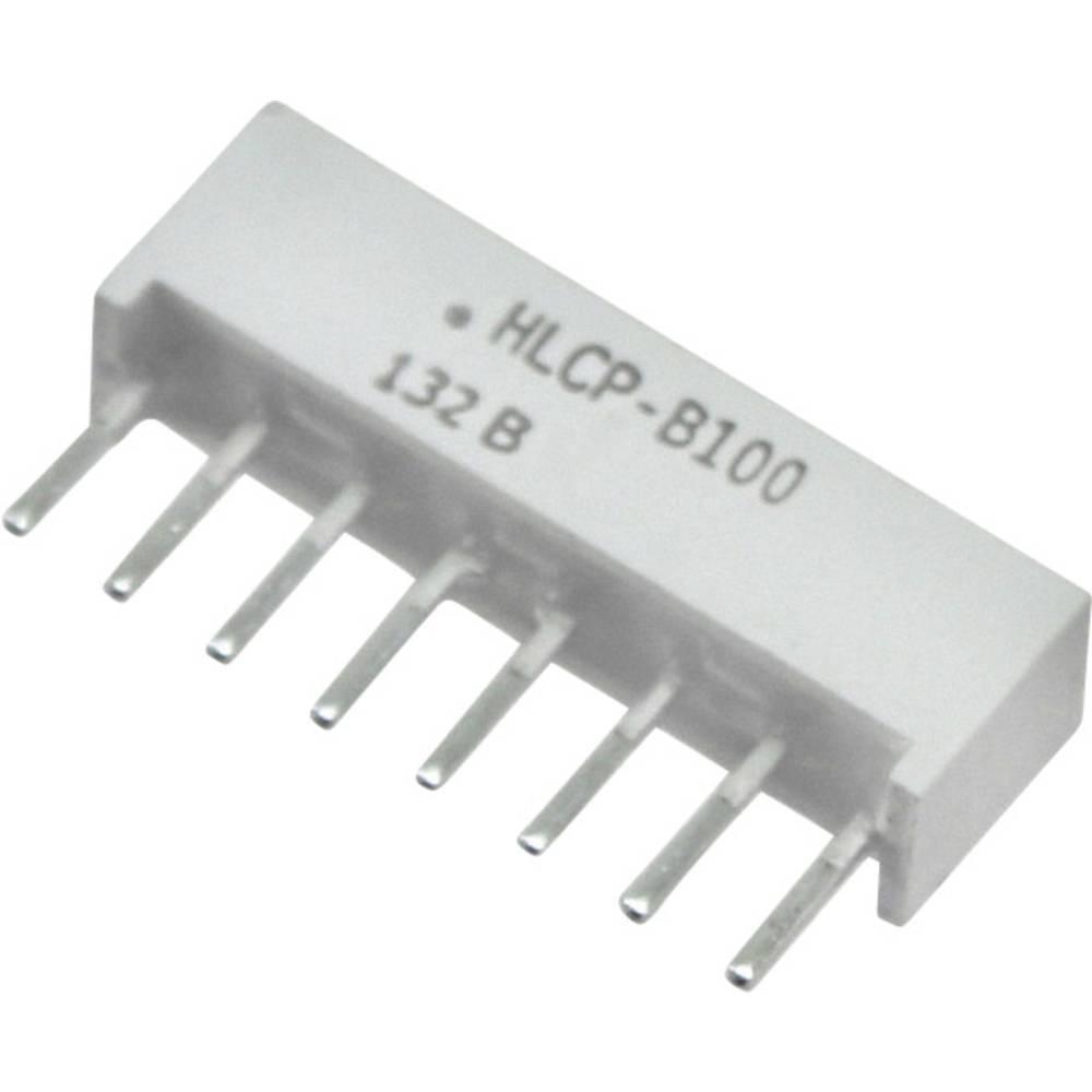 LED-Baustein (value.1317427) Broadcom (L x B x H) 20.32 x 10.28 x 4.95 mm Rød
