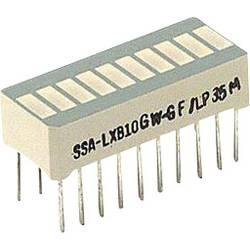LED-Bargraph (value.1317424) LUMEX (L x B x H) 25.4 x 13.8 x 10.16 mm Grøn