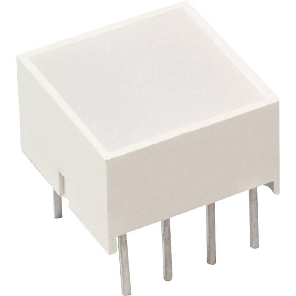 LED-Baustein (value.1317427) LUMEX (L x B x H) 10.1 x 9.94 x 9.94 mm Gul
