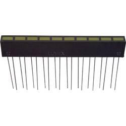 LED-Reihe (value.1317426) LUMEX (L x B x H) 60.8 x 35 x 5 mm Gul