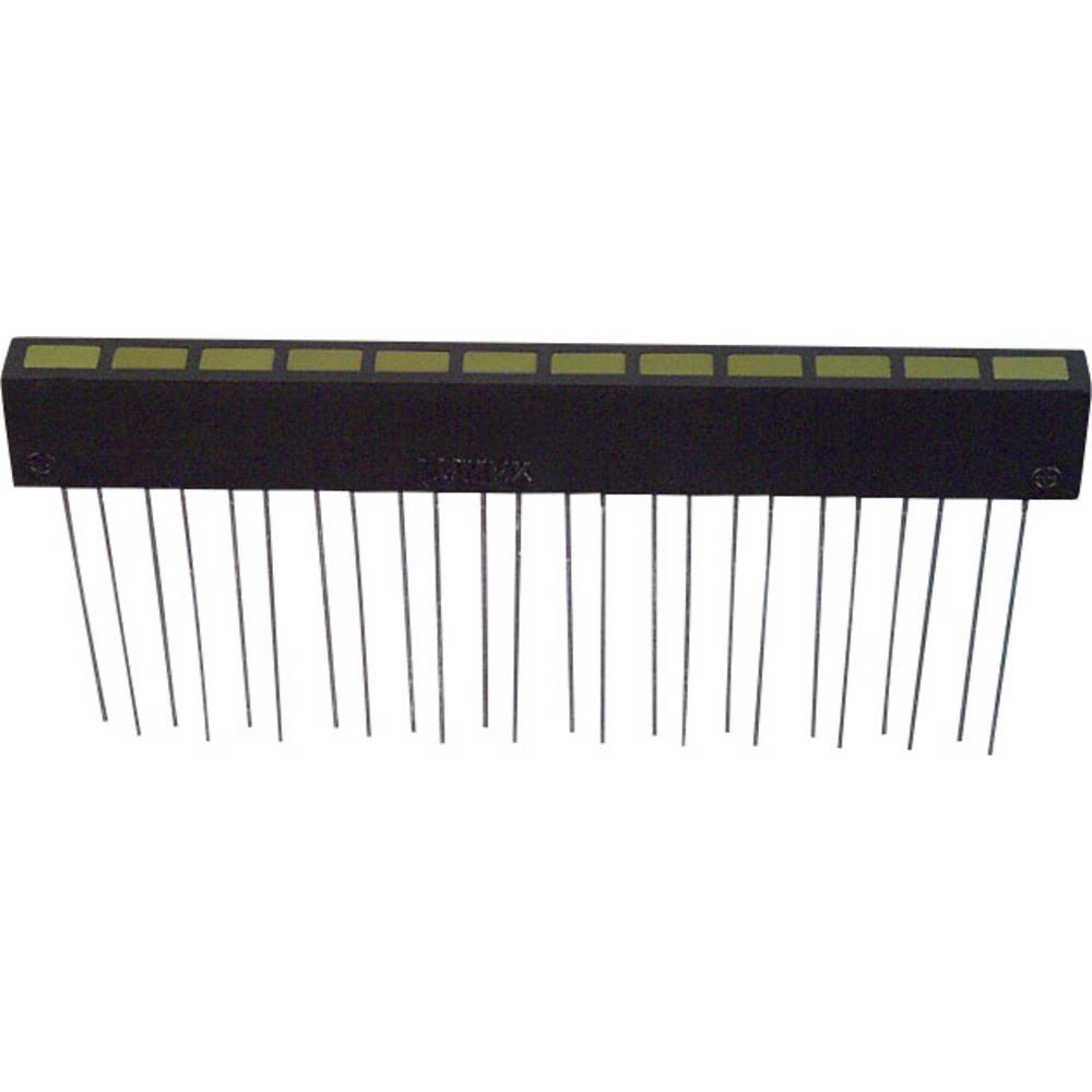 LED bånd LUMEX (L x B x H) 74.5 x 10 x 5.08 mm Gul