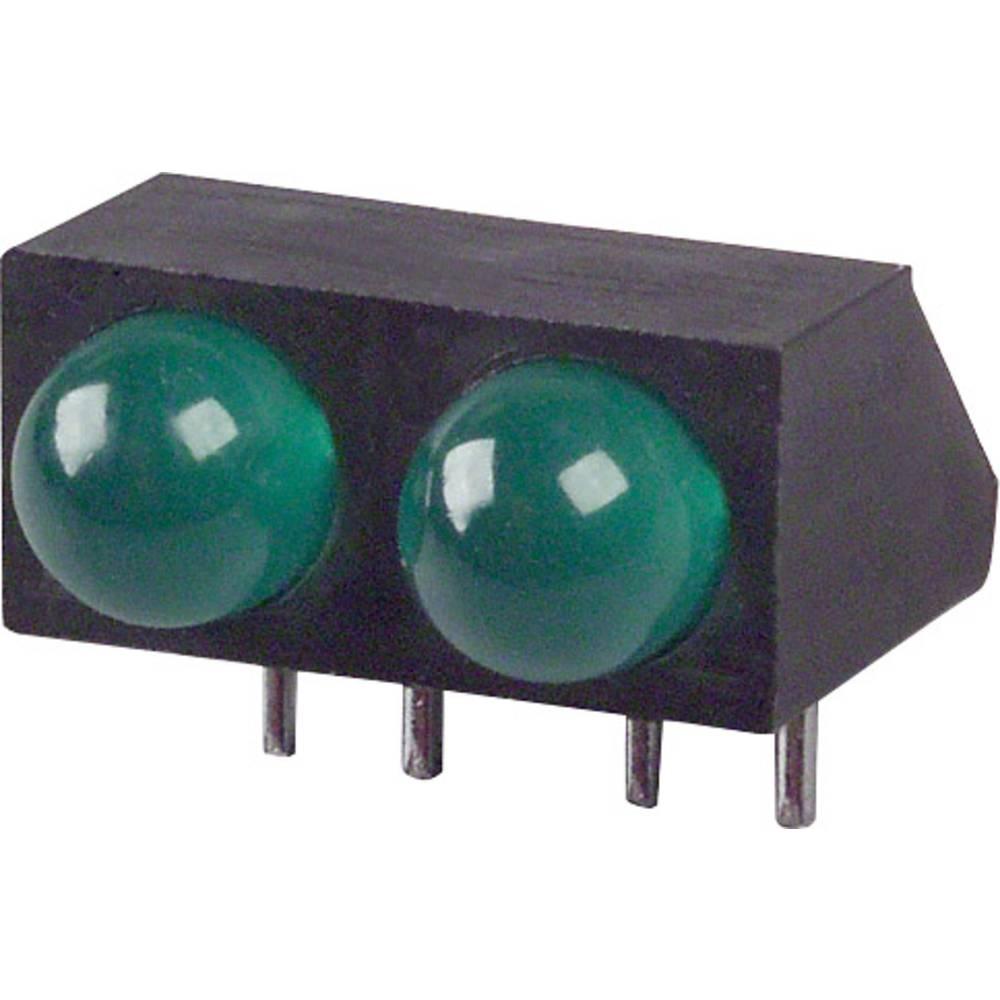 LED-Reihe (value.1317426) LUMEX (L x B x H) 14 x 12.5 x 9.18 mm Grøn