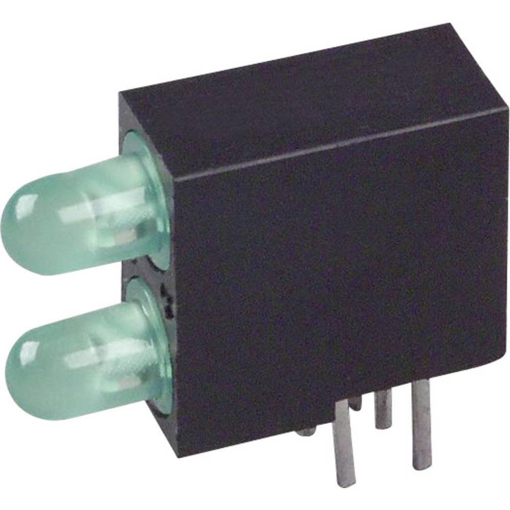 LED-Bargraph (value.1317424) LUMEX (L x B x H) 14 x 12.88 x 4.6 mm Grøn