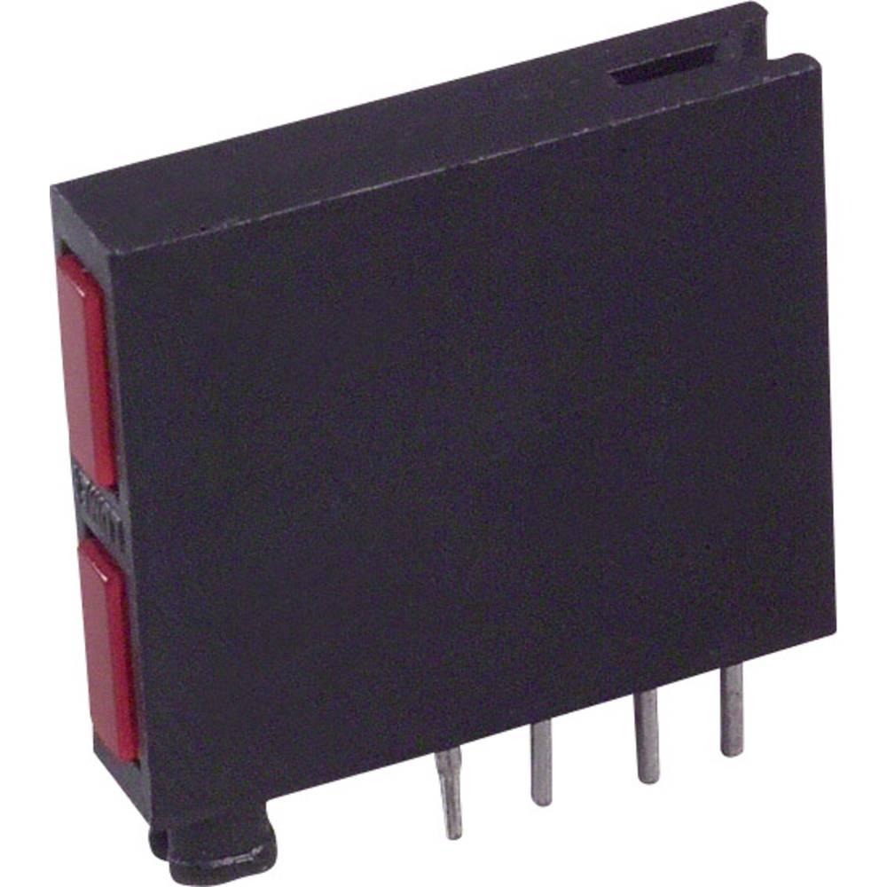 LED-komponent LUMEX (L x B x H) 18.84 x 17.77 x 3.61 mm Rød