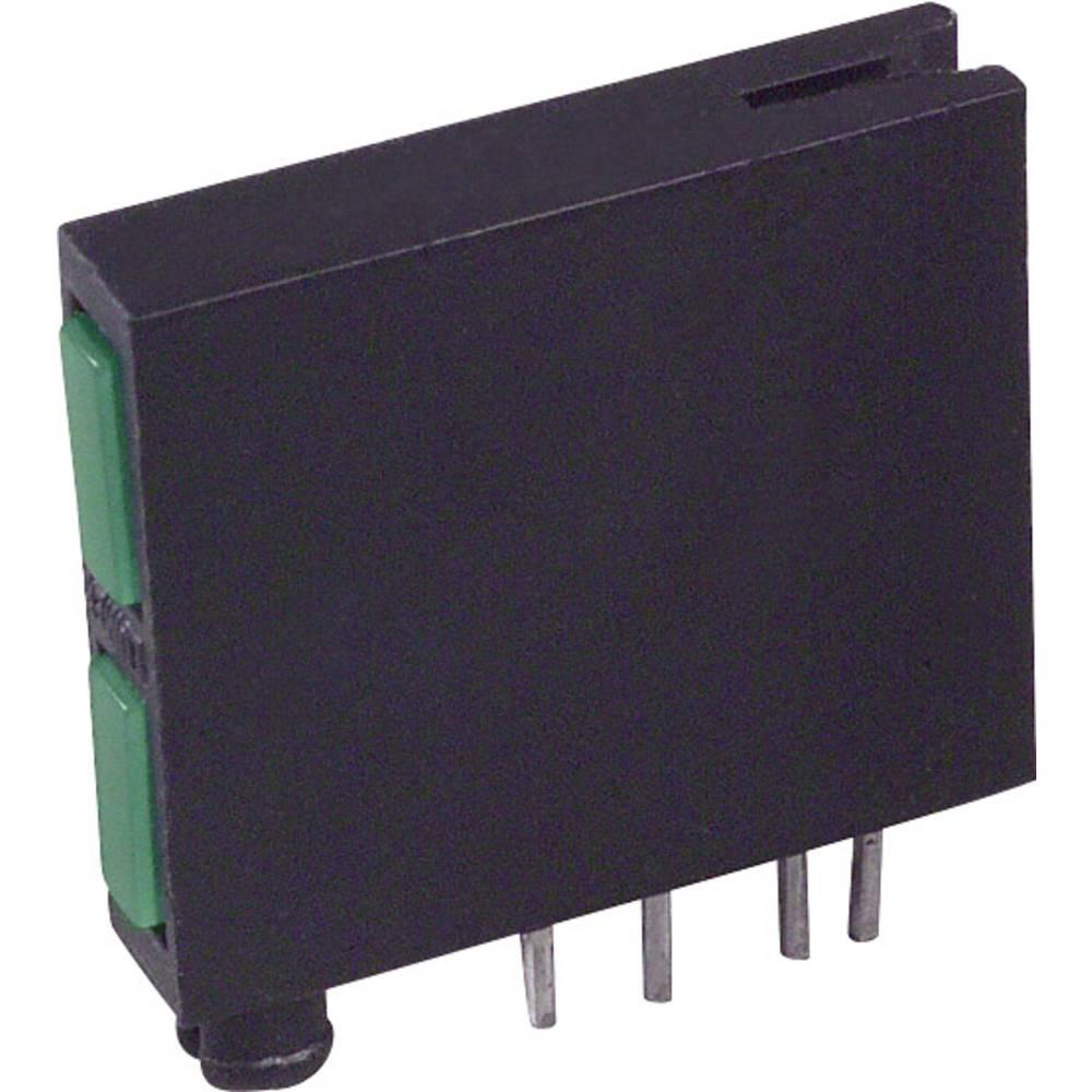 LED-Baustein (value.1317427) LUMEX (L x B x H) 18.84 x 17.77 x 3.61 mm Grøn