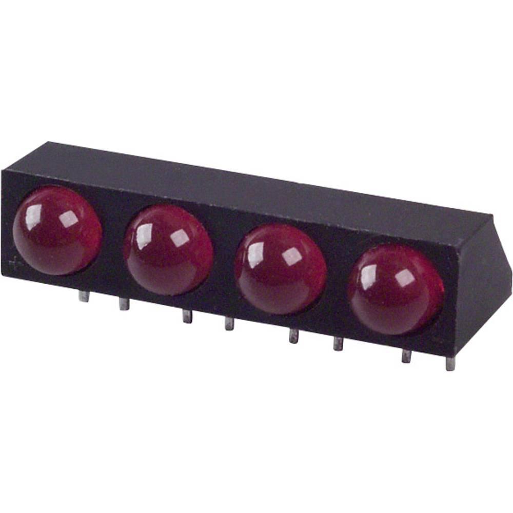LED-Baustein (value.1317427) LUMEX (L x B x H) 25.4 x 12.2 x 9.18 mm Rød
