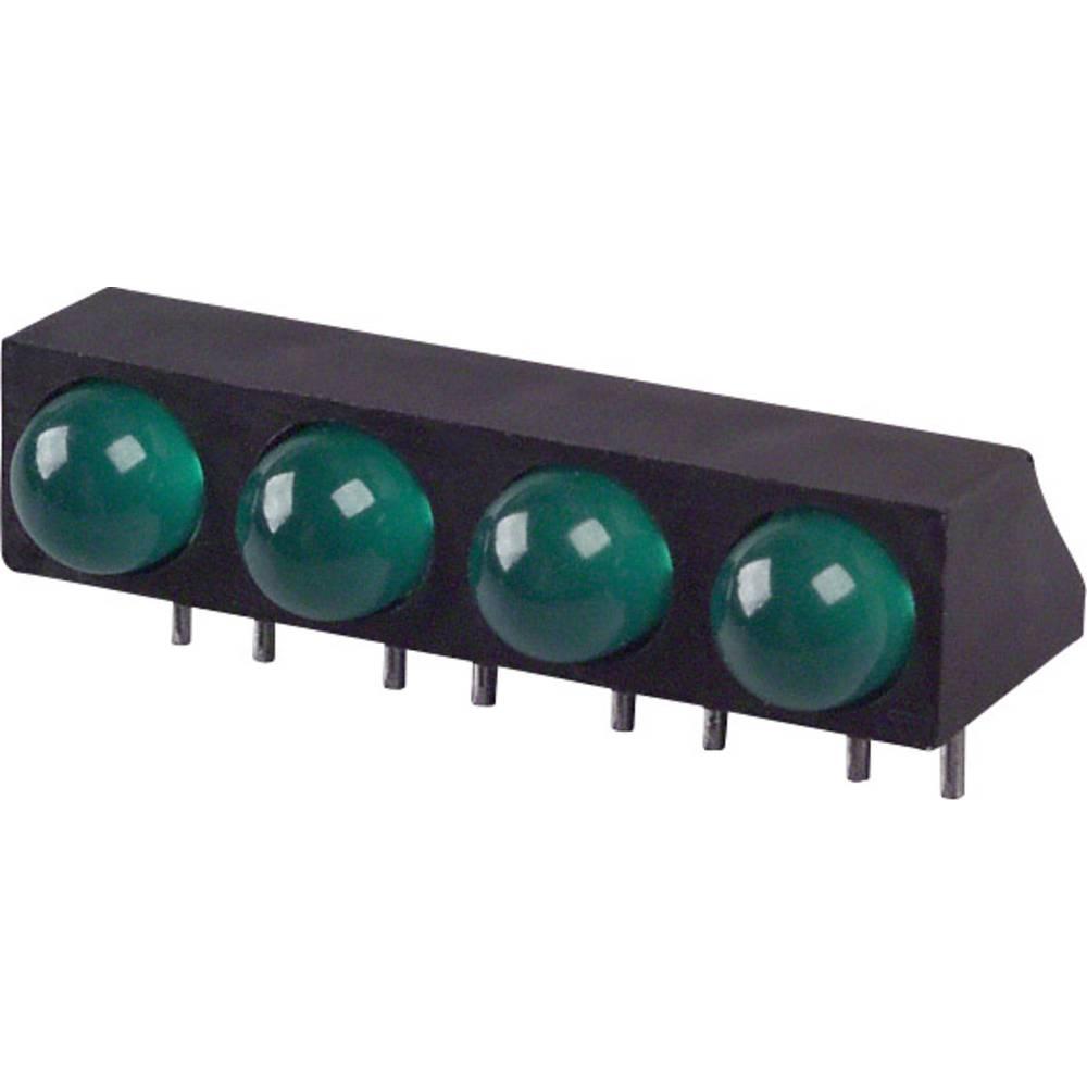 LED-komponent LUMEX (L x B x H) 25.4 x 12.2 x 9.18 mm Grøn