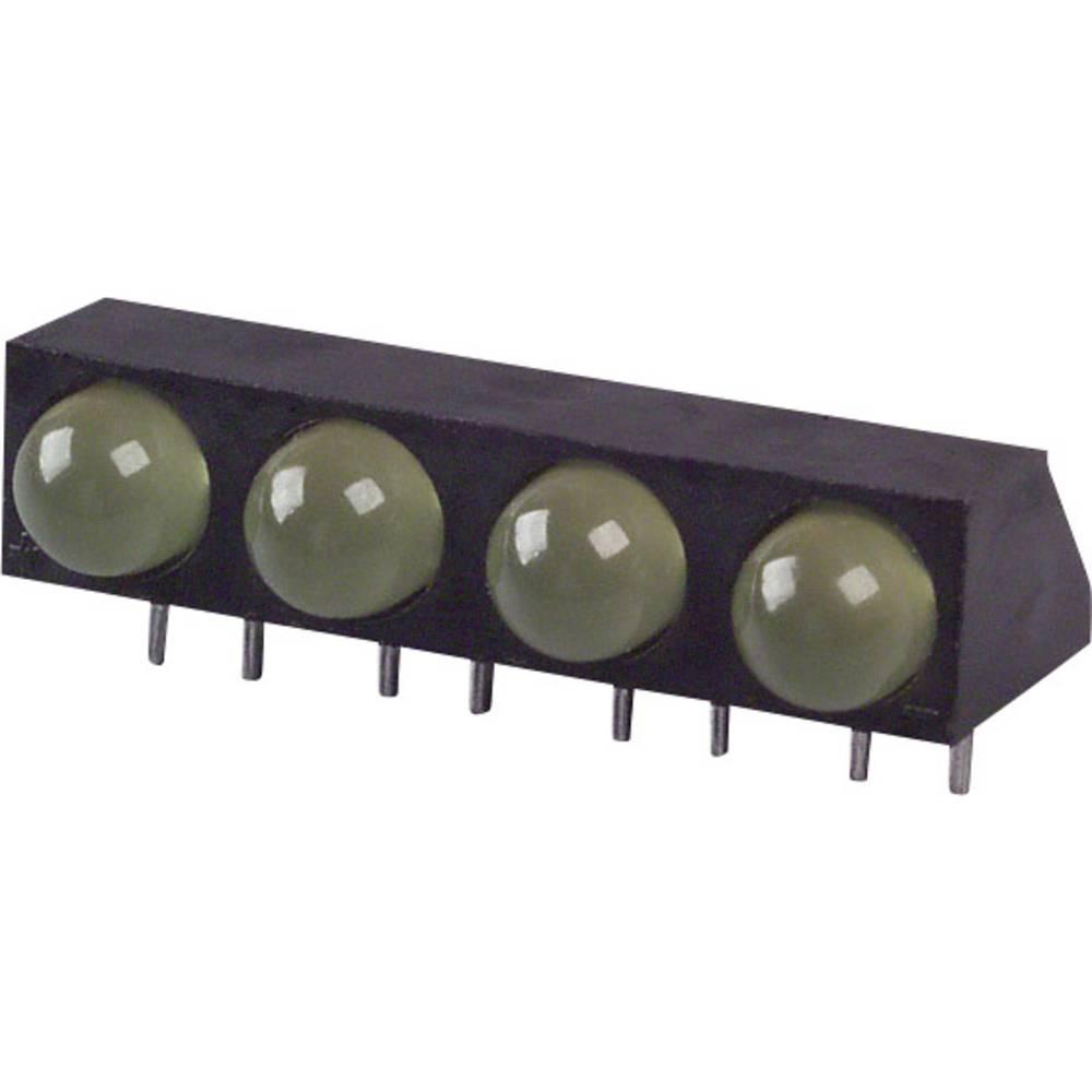 LED-komponent LUMEX (L x B x H) 25 x 11.5 x 9.18 mm Gul
