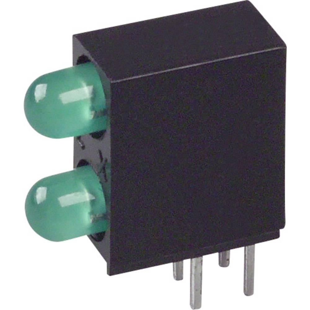 LED-Baustein (value.1317427) LUMEX (L x B x H) 12.83 x 10.77 x 4.32 mm Grøn