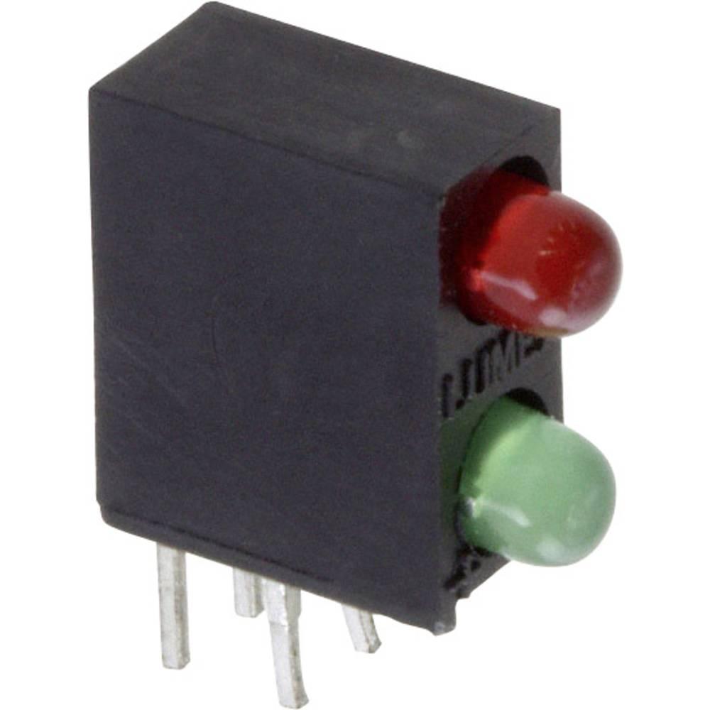 LED-Baustein (value.1317427) LUMEX (L x B x H) 12.83 x 10.93 x 4.32 mm Grøn, Rød