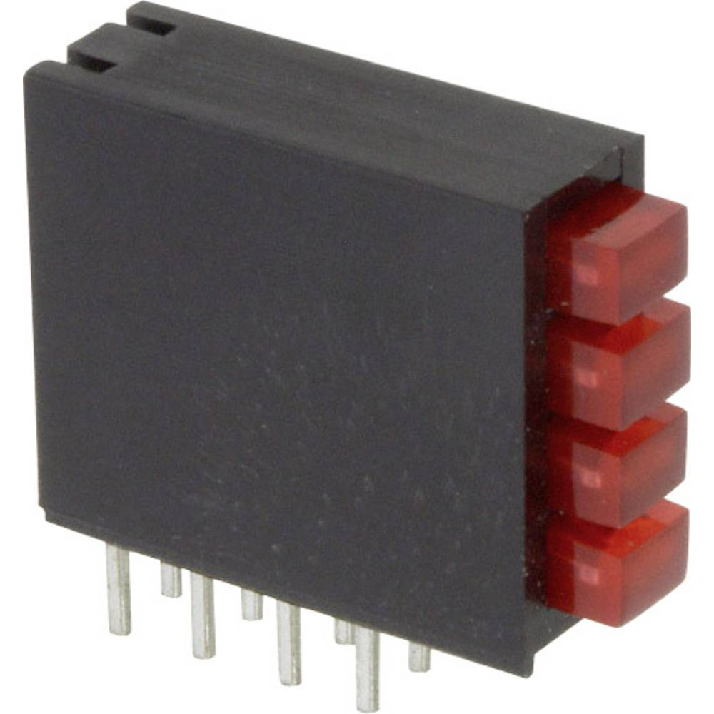LED-Baustein (value.1317427) LUMEX (L x B x H) 16.2 x 15 x 5.08 mm Rød