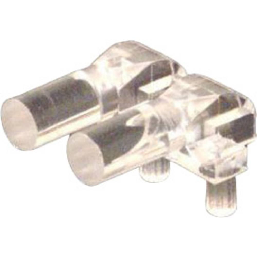 Optična vlakna Dialight 515-1071F primerno za: MicroLED SMT LEDs 1-vrstica/2-krat 2 x 3.56 mm