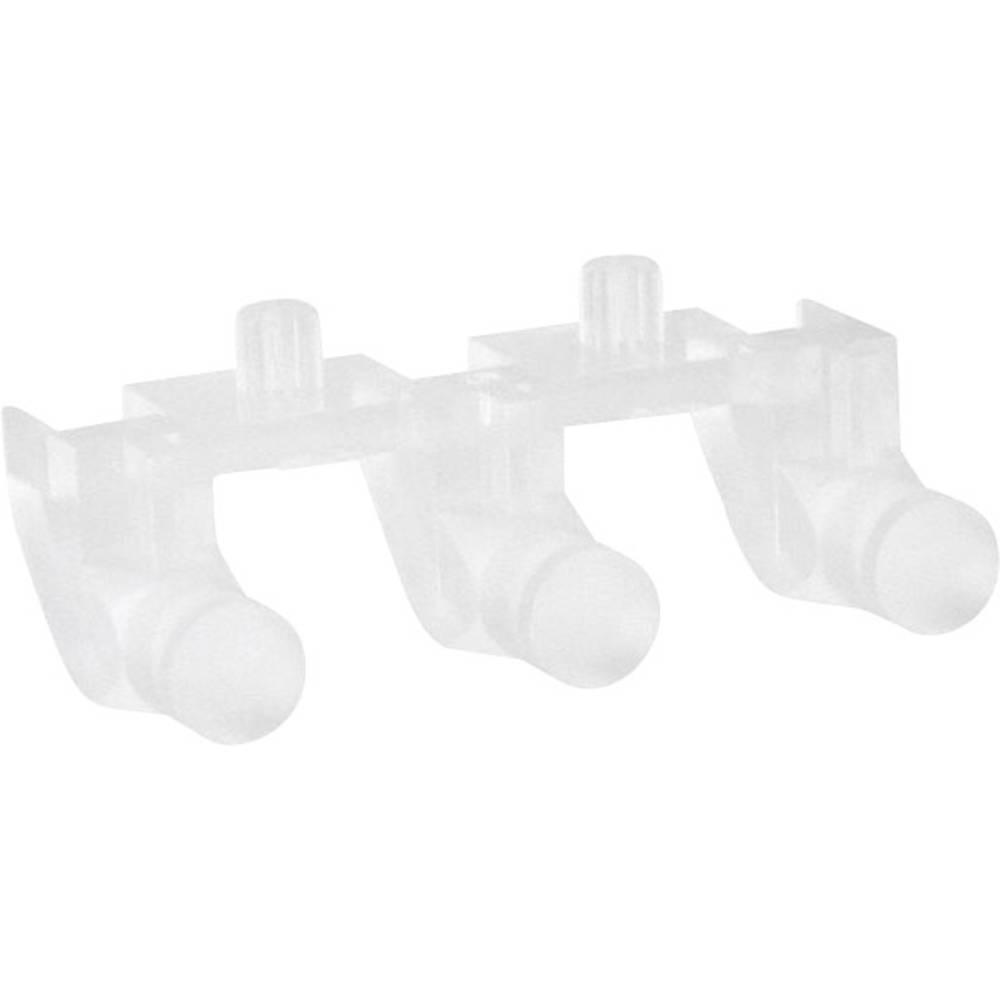 Svjetlovod 515-1010F Dialight za: MicroLED SMT LEDs 1-redni/3-struki 3 x 4.83 mm