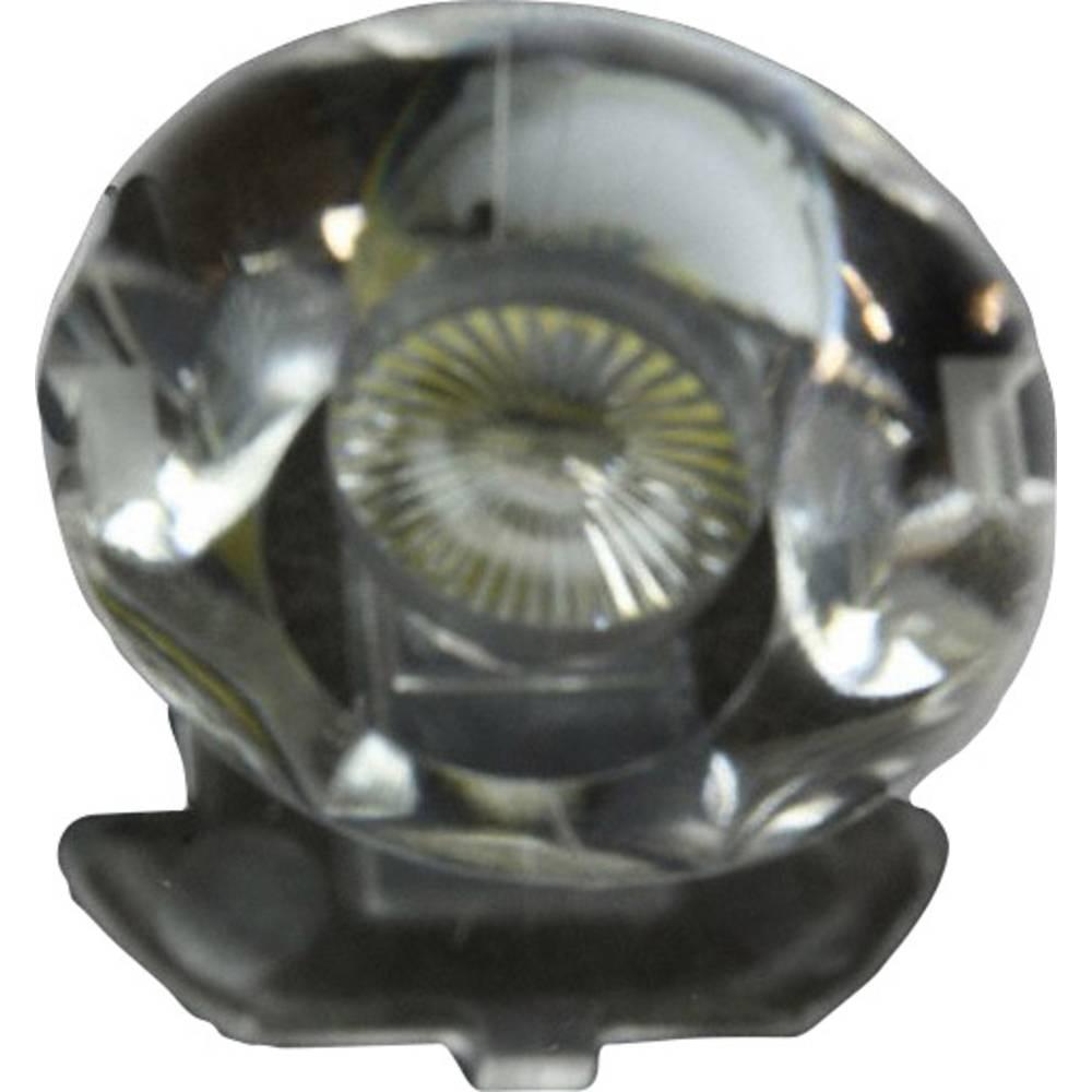 Pokrovna leća, prozirna 12 ° za LED: Cree Xlamp® 7090 LED-serijska Dialight OPT-X1006