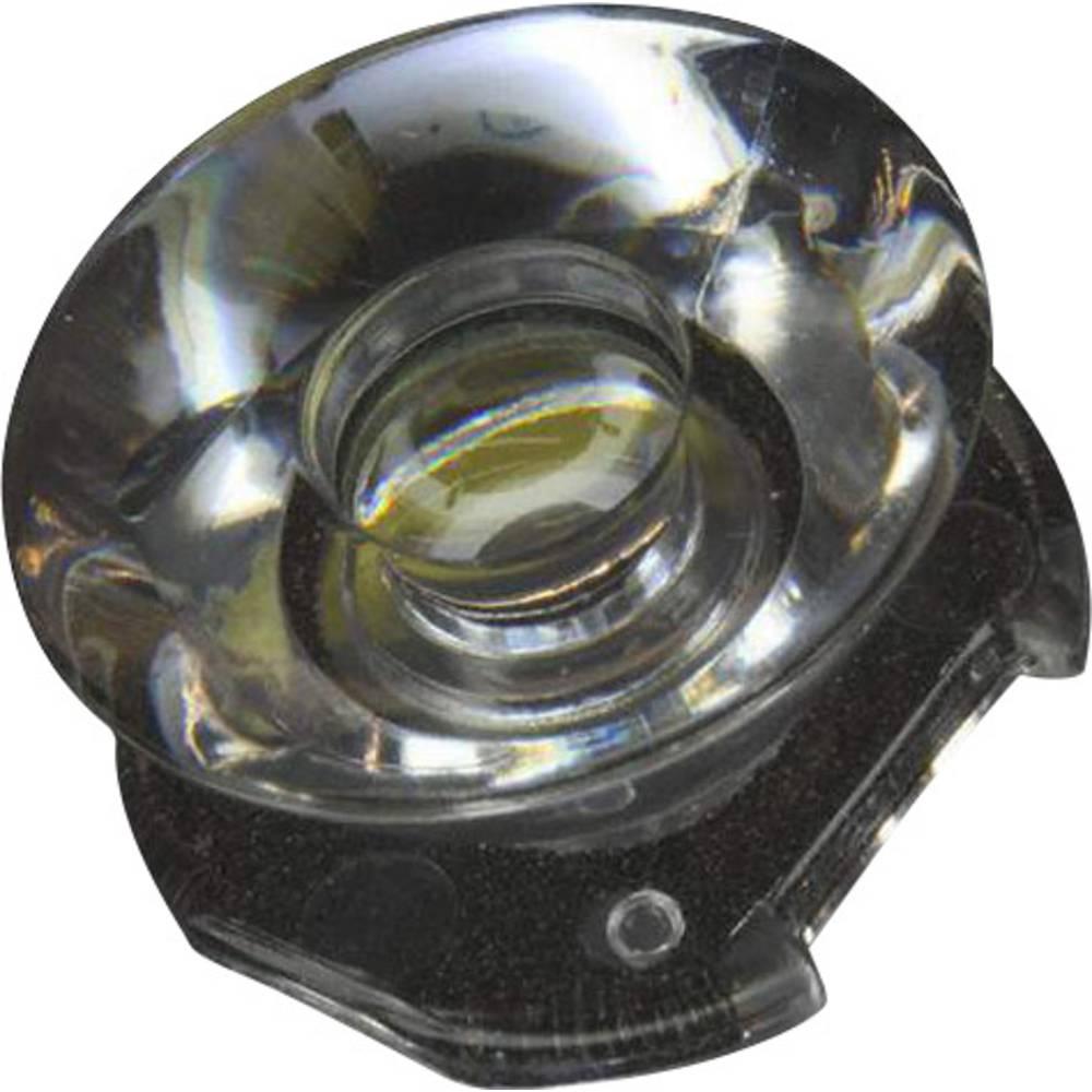 Pokrovna leća, čista prozirna 10 ° za LED: LUXEON Rebel LED-serijska Dialight OPC-11SPOT