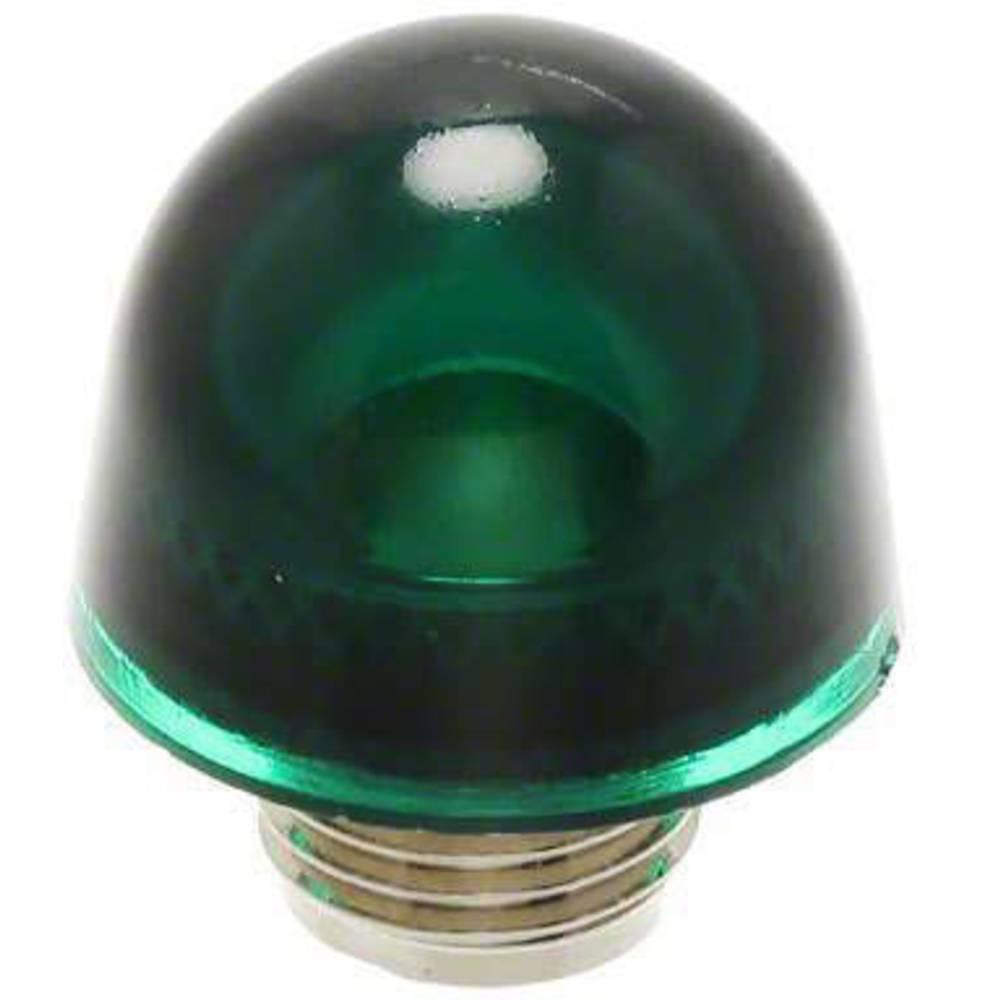 LED pokrovček, zeleni, prozoren Dialight 128-0932-003