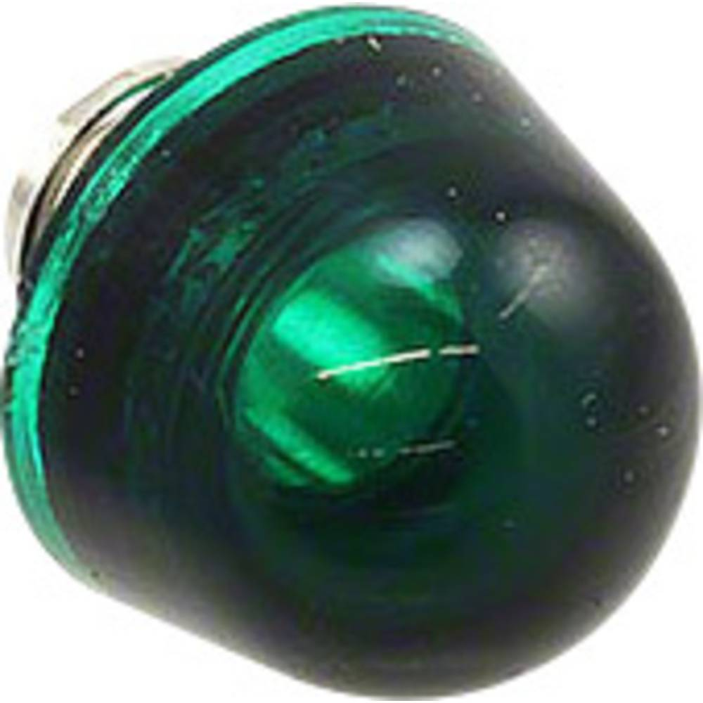 LED pokrovček, zeleni, prozoren Dialight 177-0932-003