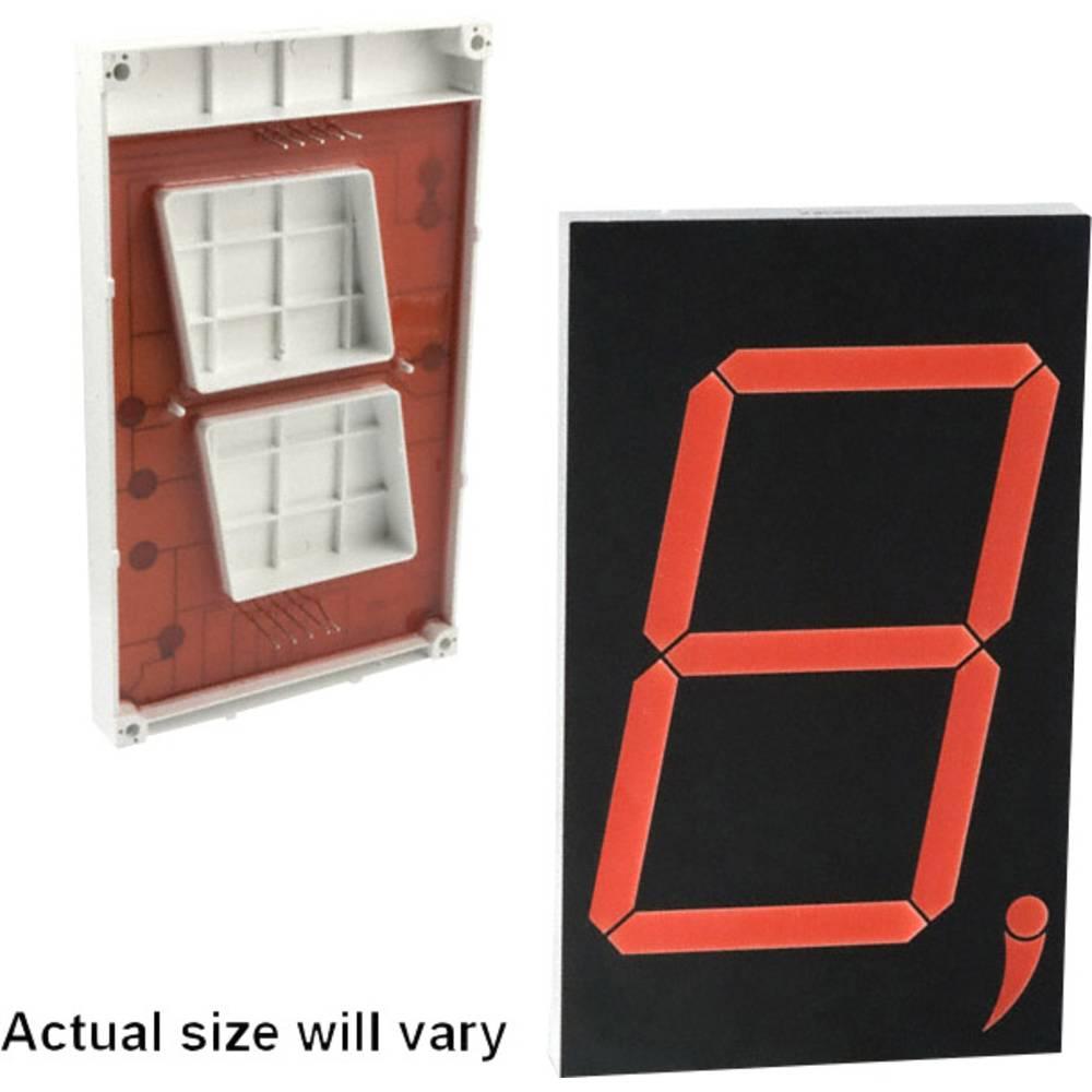 7-segmentsvisning Lite-On 76.2 mm 12 V Rød