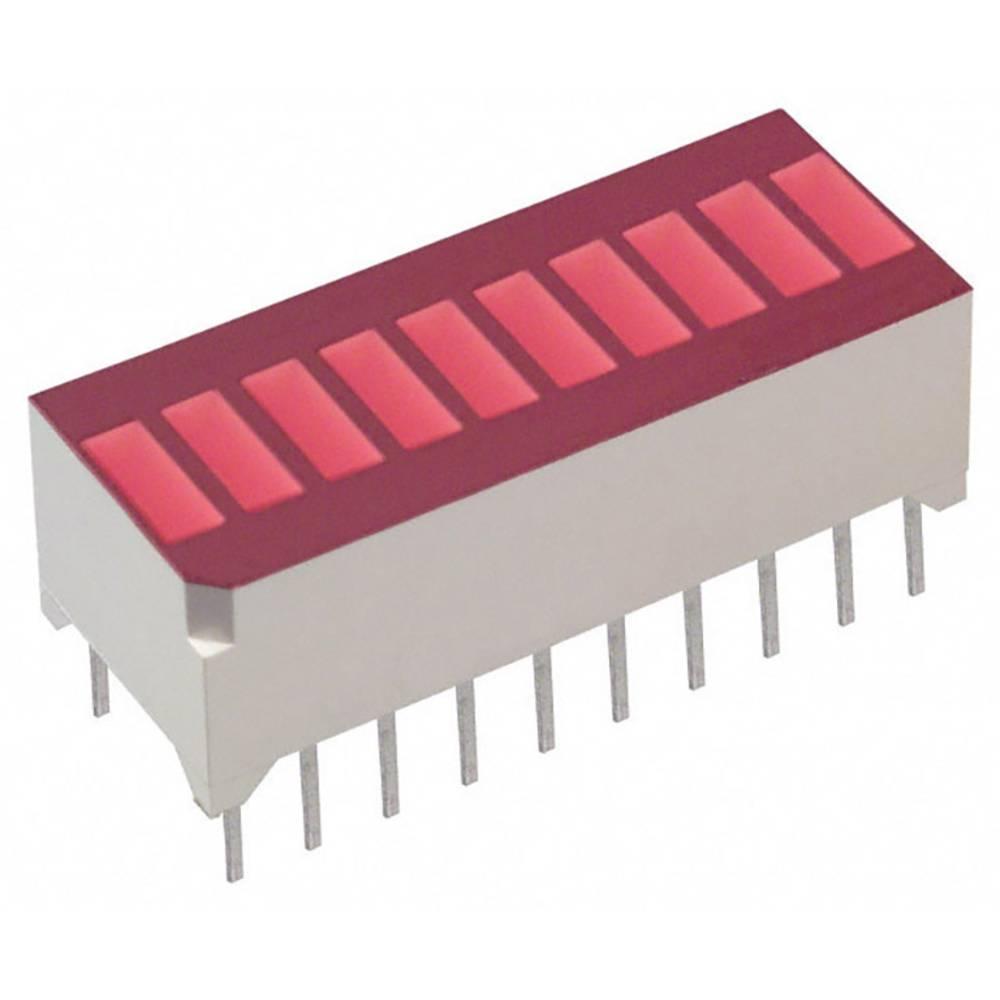 LED-søjlediagram Lite-On (L x B x H) 25.27 x 11.8 x 10.16 mm Rød