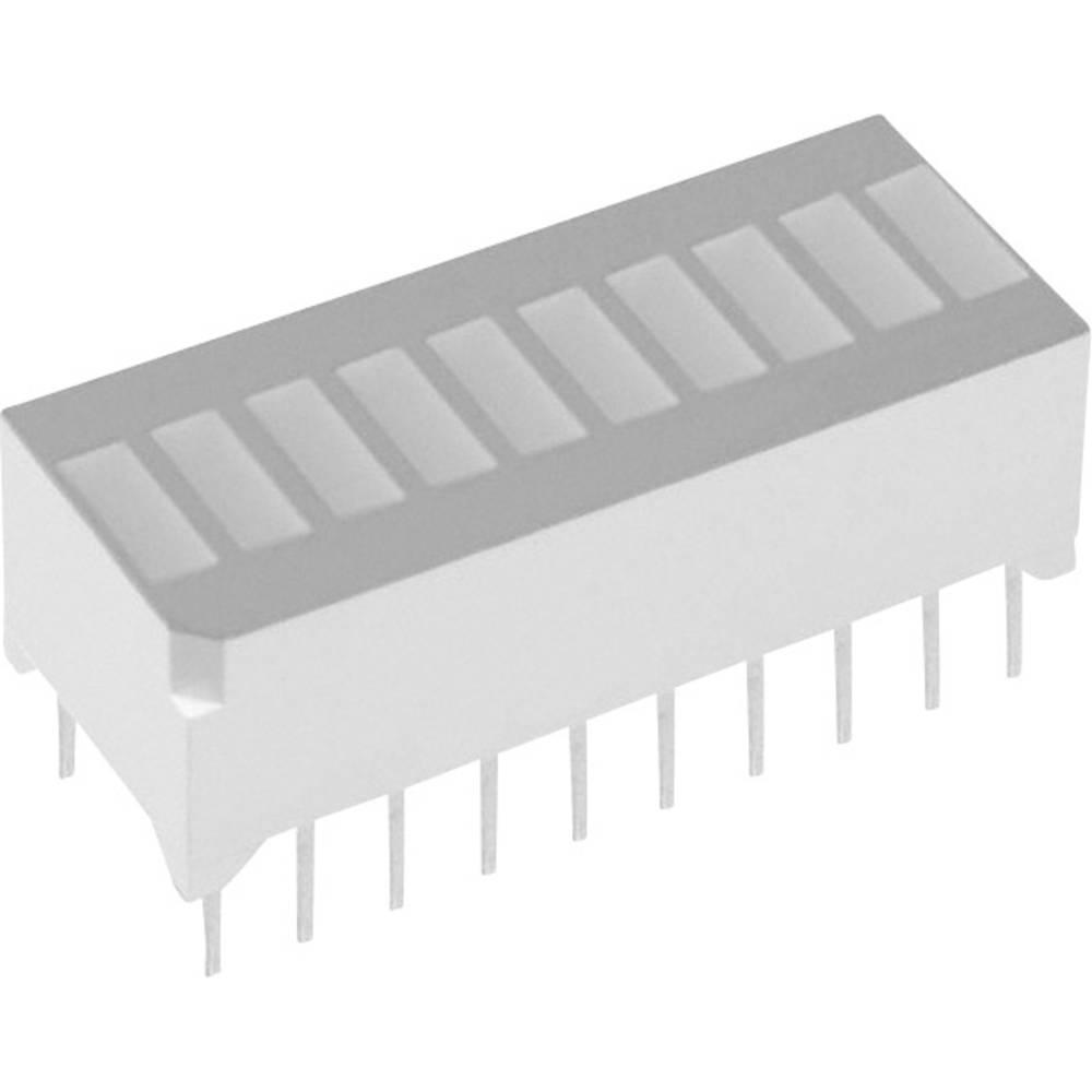 LED-Bargraph (value.1317424) Lite-On (L x B x H) 25.27 x 11.8 x 10.16 mm Grøn