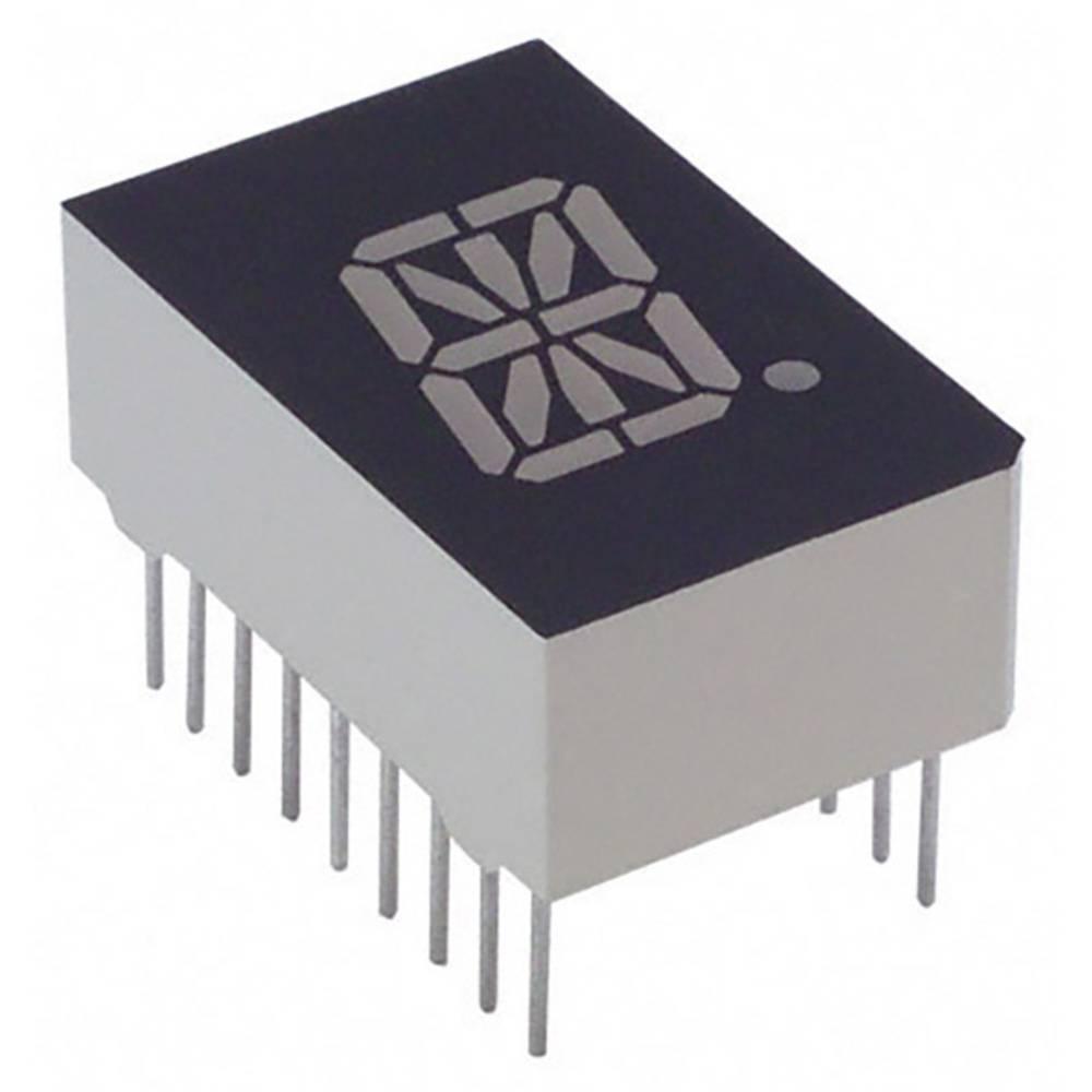 Alfanumeriske segment-display Lite-On 12.7 mm 2.1 V Grøn