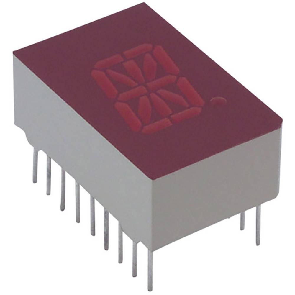 Alfanumeriske segment-display Lite-On 12.7 mm 2 V Rød