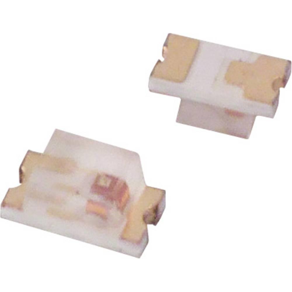 SMD LED Lite-On LTST-C190EKT 1608 2 mcd 130 ° Rød