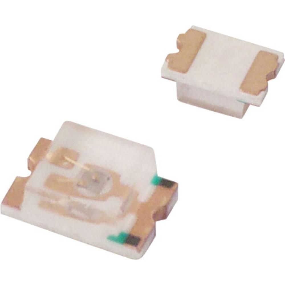 SMD LED Lite-On LTST-C171KSKT 2012 50 mcd 130 ° Gul