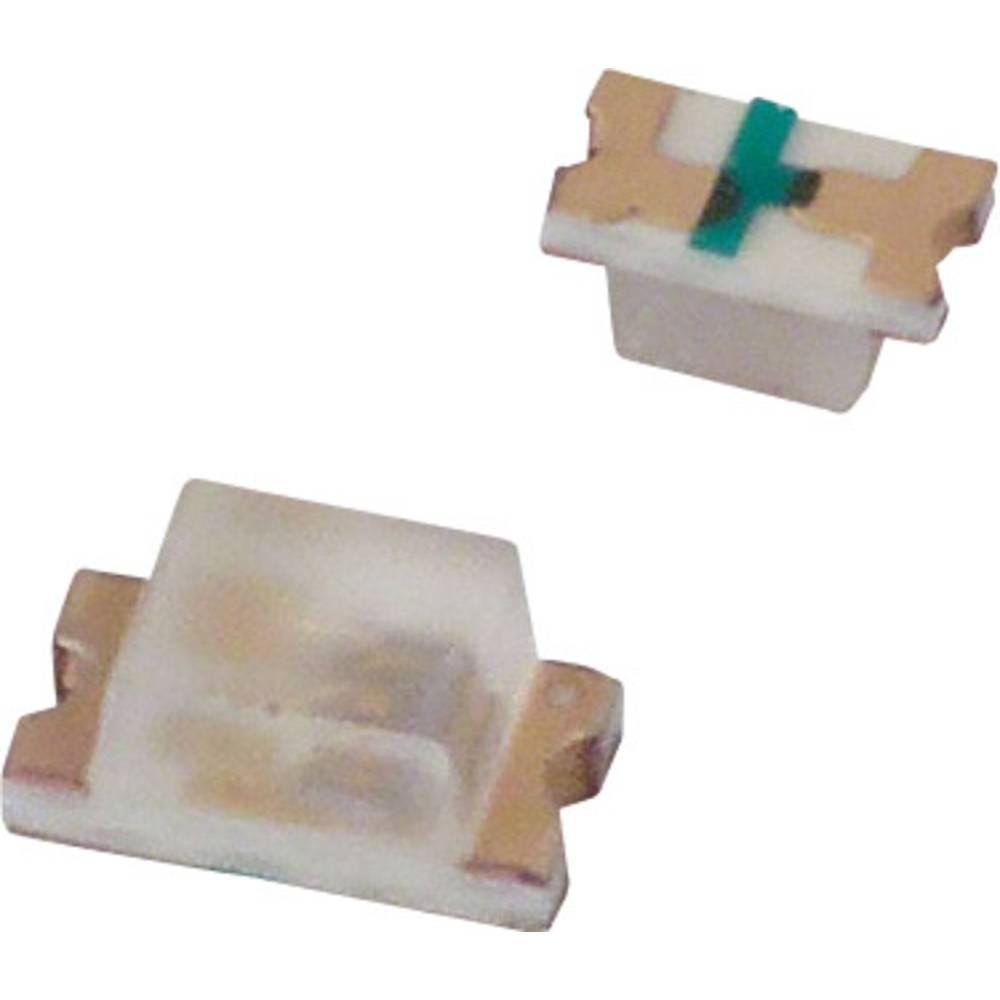 SMD-LED (value.1317393) Lite-On LTST-C190KRKT 1608 99 mcd 130 ° Rød