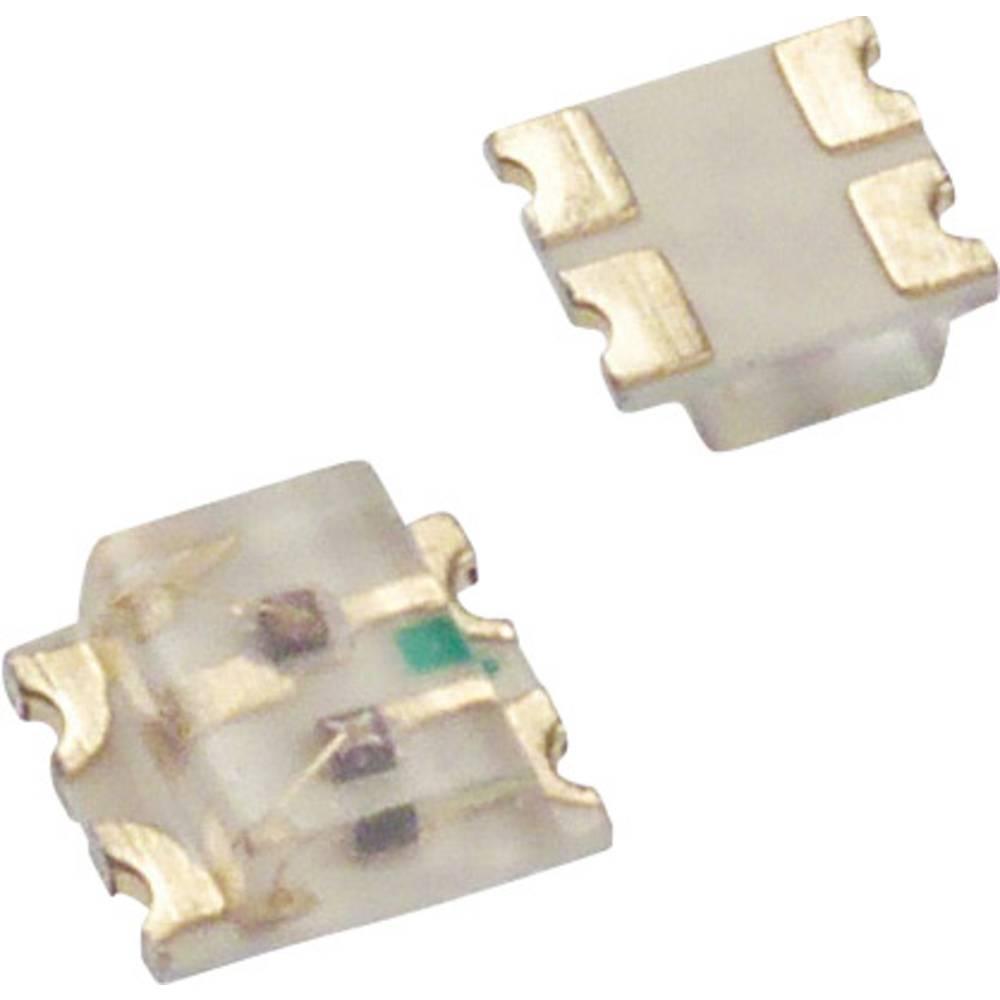 SMD-LED (value.1317393) Lite-On LTST-C195KGJRKT 1616 35 mcd, 45 mcd 130 ° Grøn, Rød