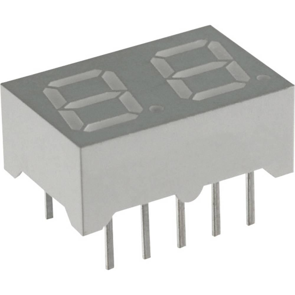 7-segmentsvisning Lite-On 7 mm 3.8 V Blå