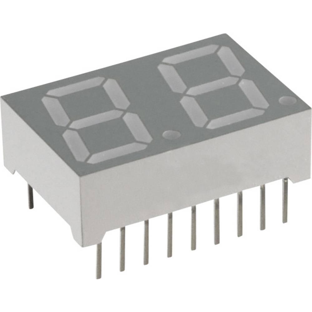 7-Segment-Anzeige (value.1317366) Lite-On 14.22 mm 3.8 V Blå