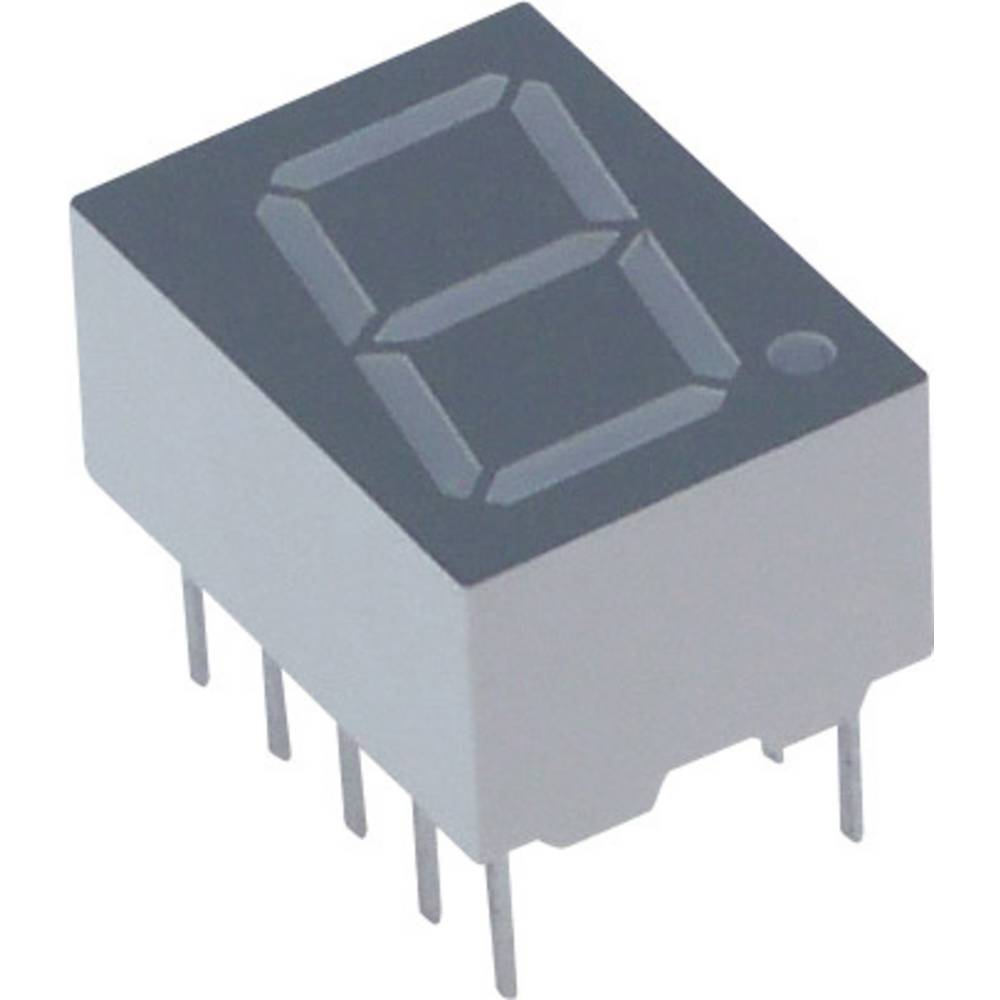 7-segmentsvisning Lite-On 10 mm 2 V Rød
