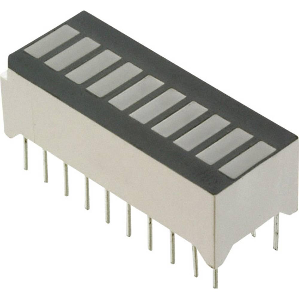LED-Bargraph (value.1317424) Lite-On (L x B x H) 25.27 x 11.8 x 10.16 mm Rød