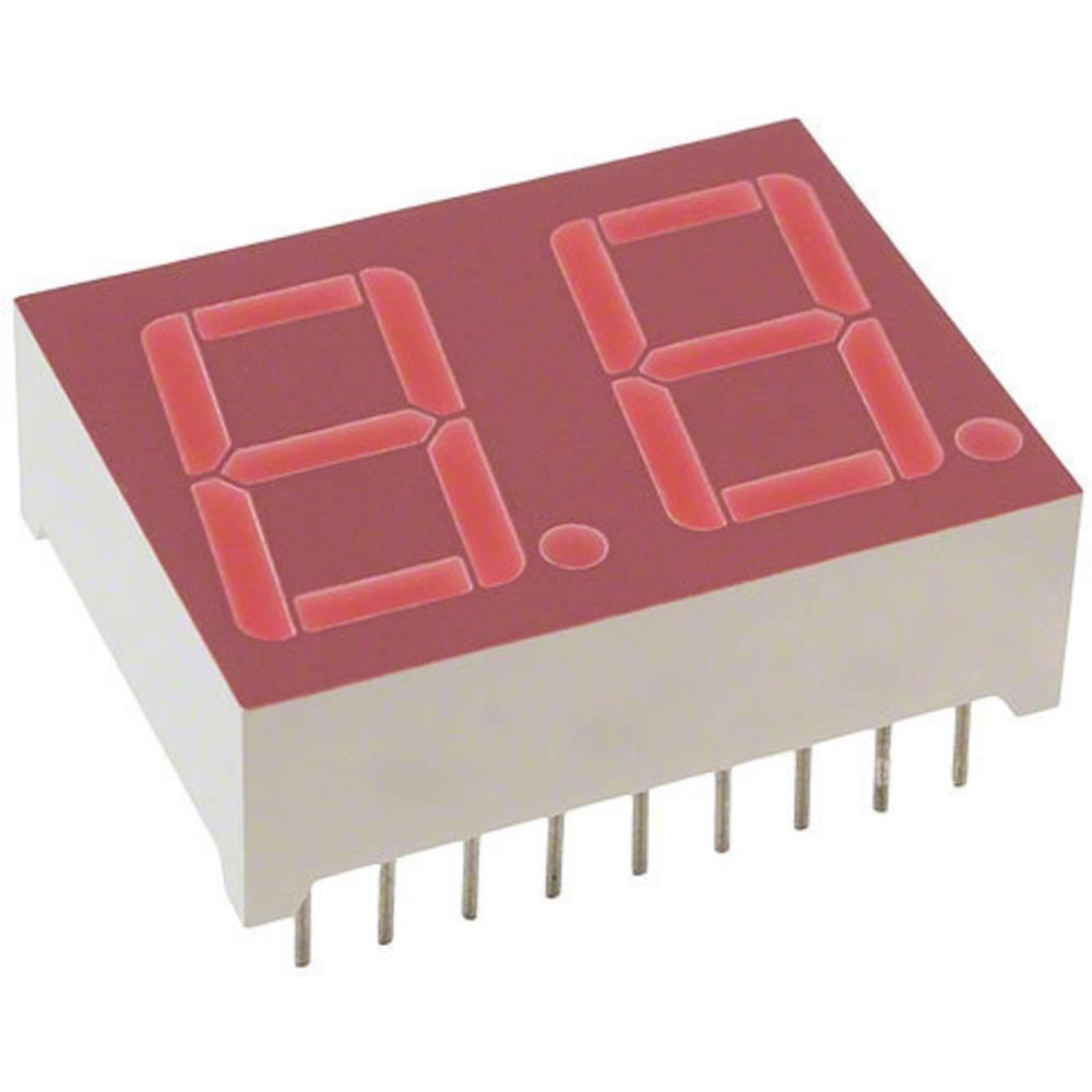 7-segmentsvisning Lite-On 14.22 mm 2 V Rød