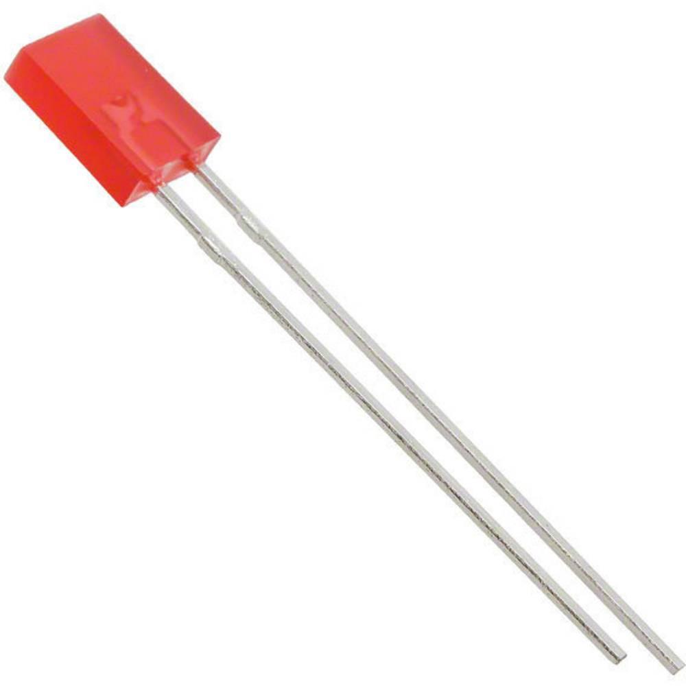 LED med ledninger Lite-On 2 x 5 mm 3.7 mcd 140 ° 30 mA 2 V Rød