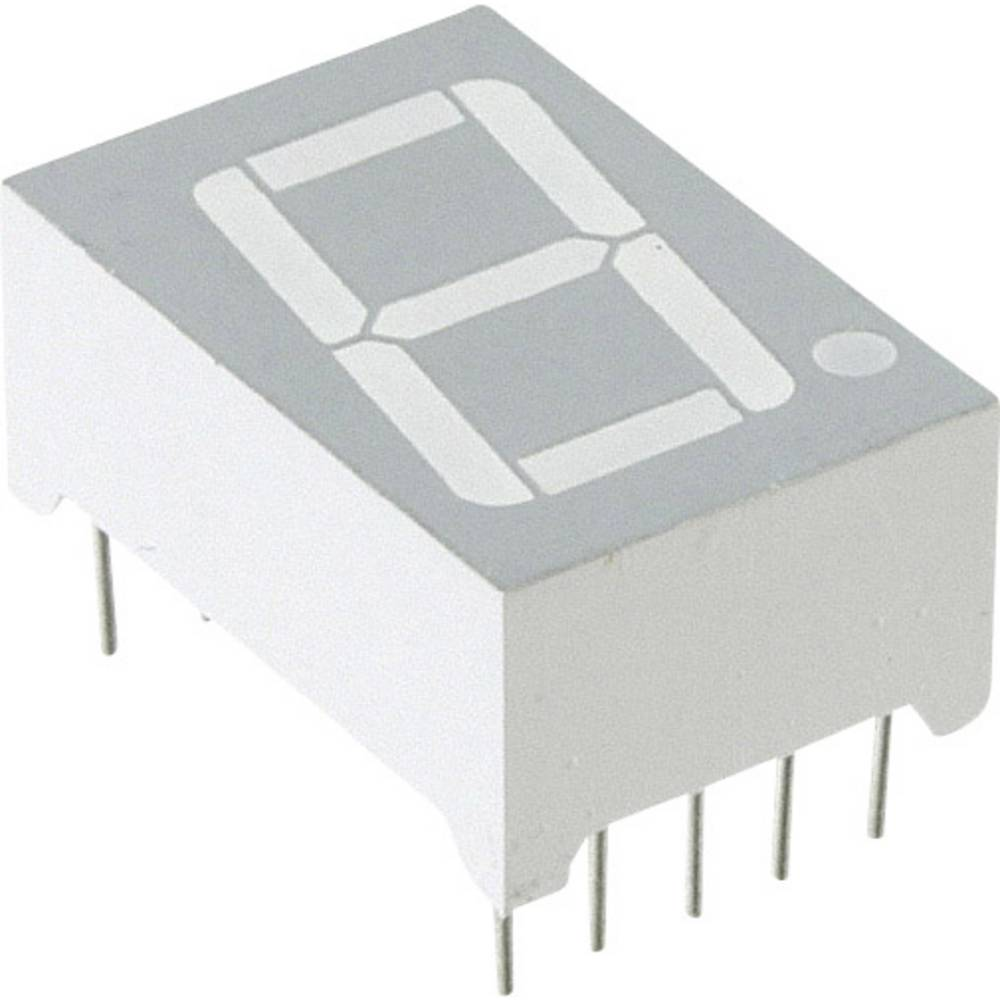 7-segmentsvisning Lite-On LTS-6460G 14.22 mm 2.1 V Grøn