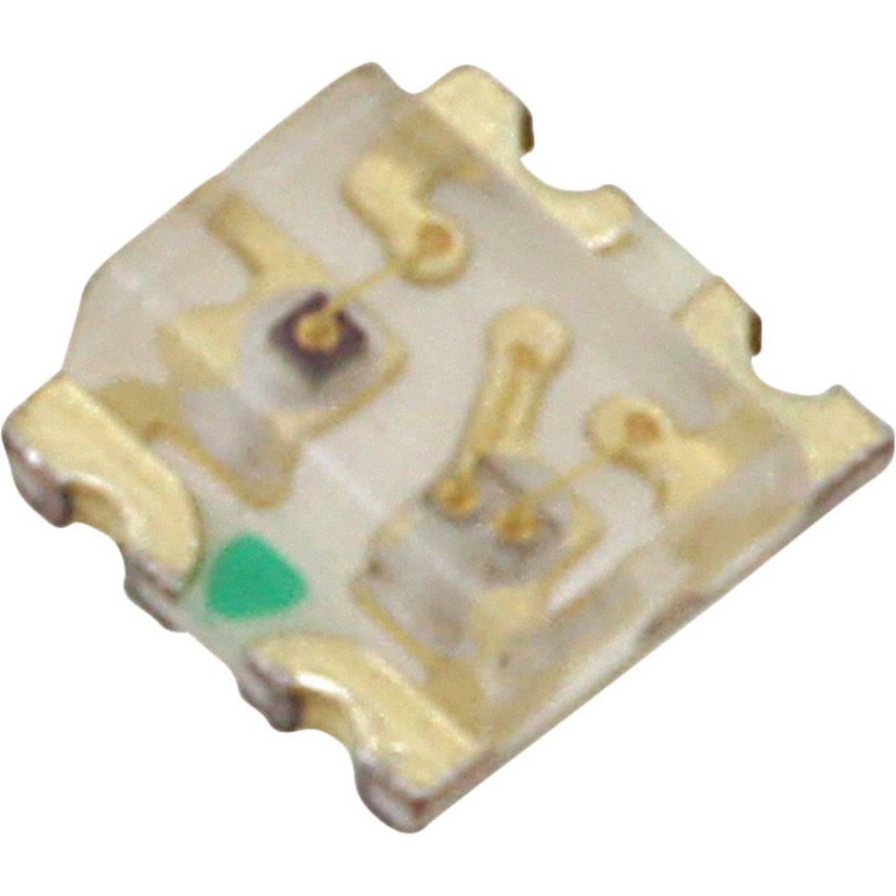 SMD-LED (value.1317393) Lite-On LTST-C195TBJRKT 1613 45 mcd 130 ° Blå , Rød