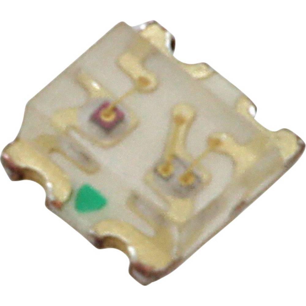 SMD-LED (value.1317393) Lite-On LTST-C195TBKFKT 1613 104 mcd, 113 mcd 130 ° Blå , Orange