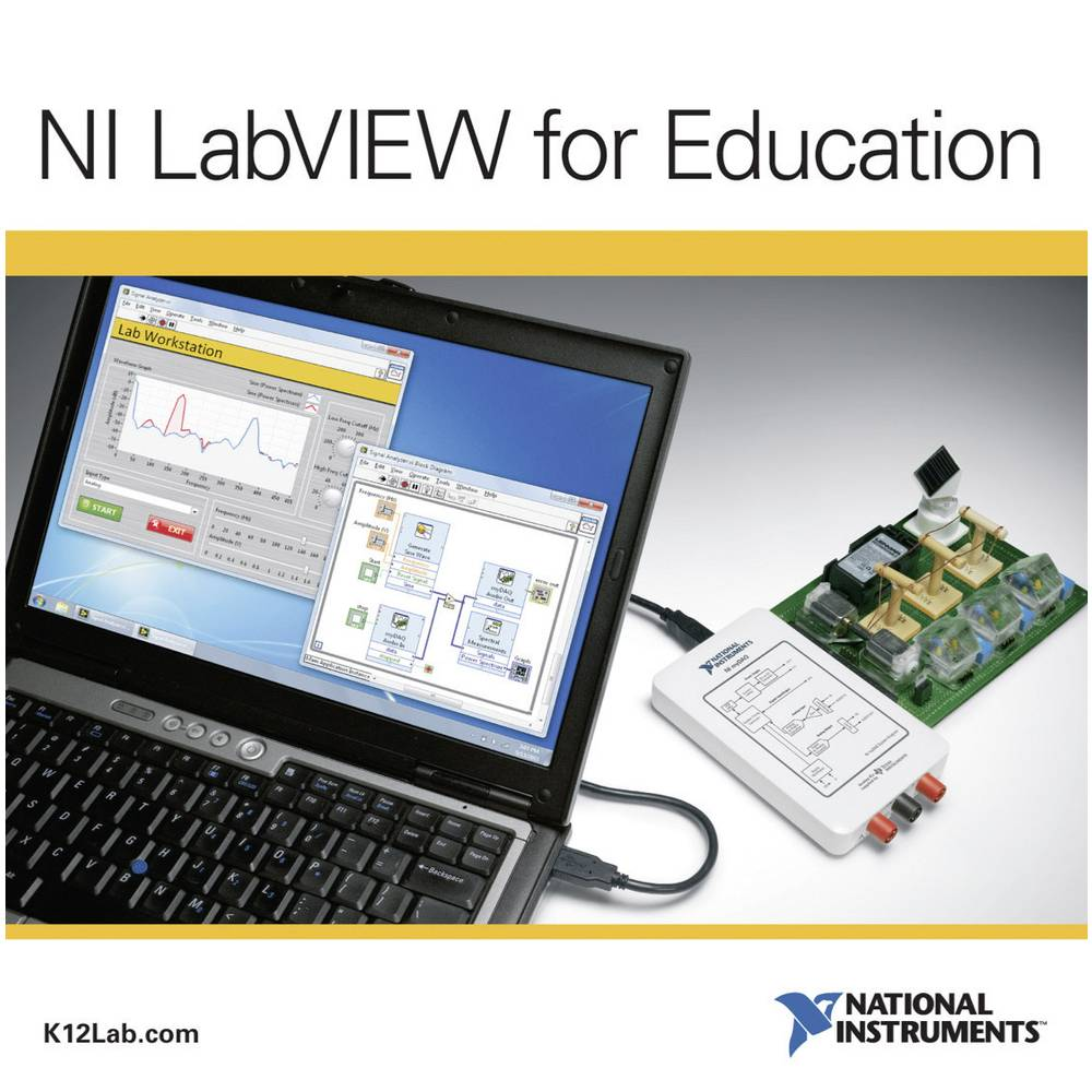 Labview za obrazovanje i nauk National Instruments - licenca za škole njemački softver