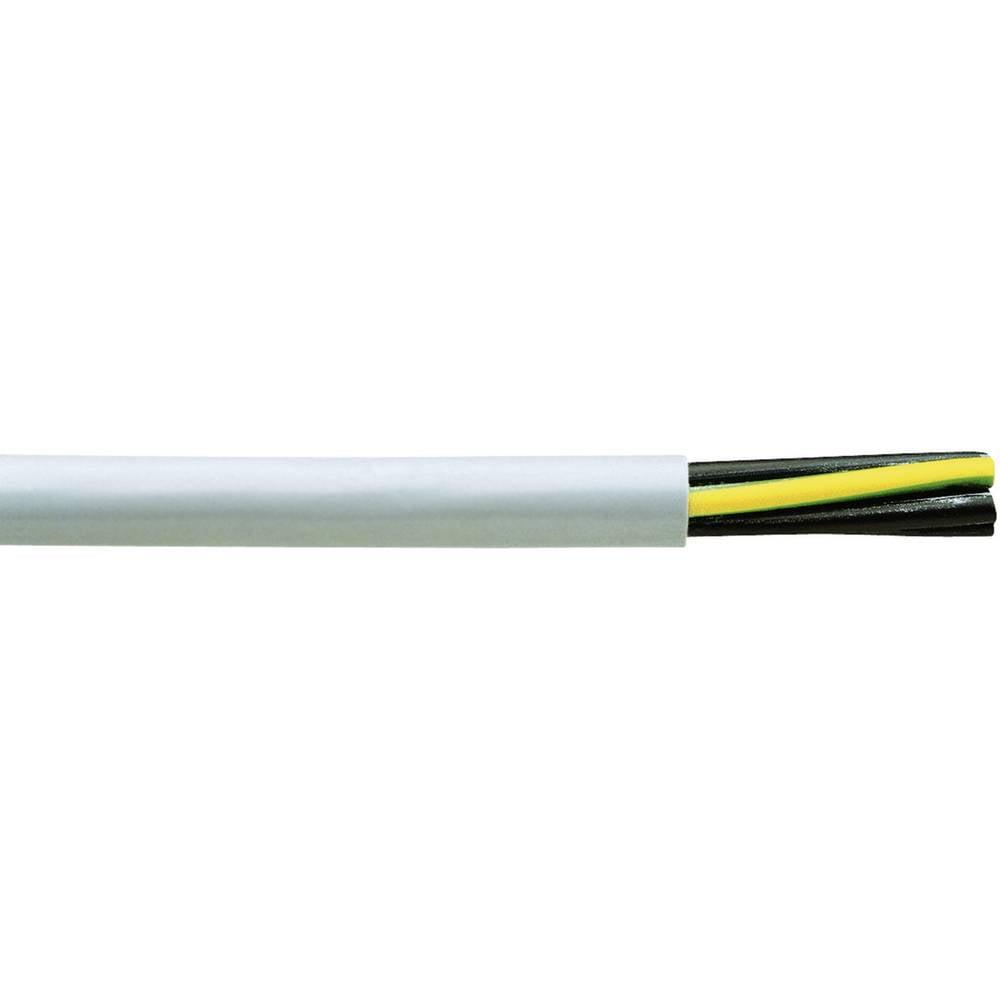 Krmilni kabel H05VV5-F 3 G 1 mm sive barve Faber Kabel 031509 meterski