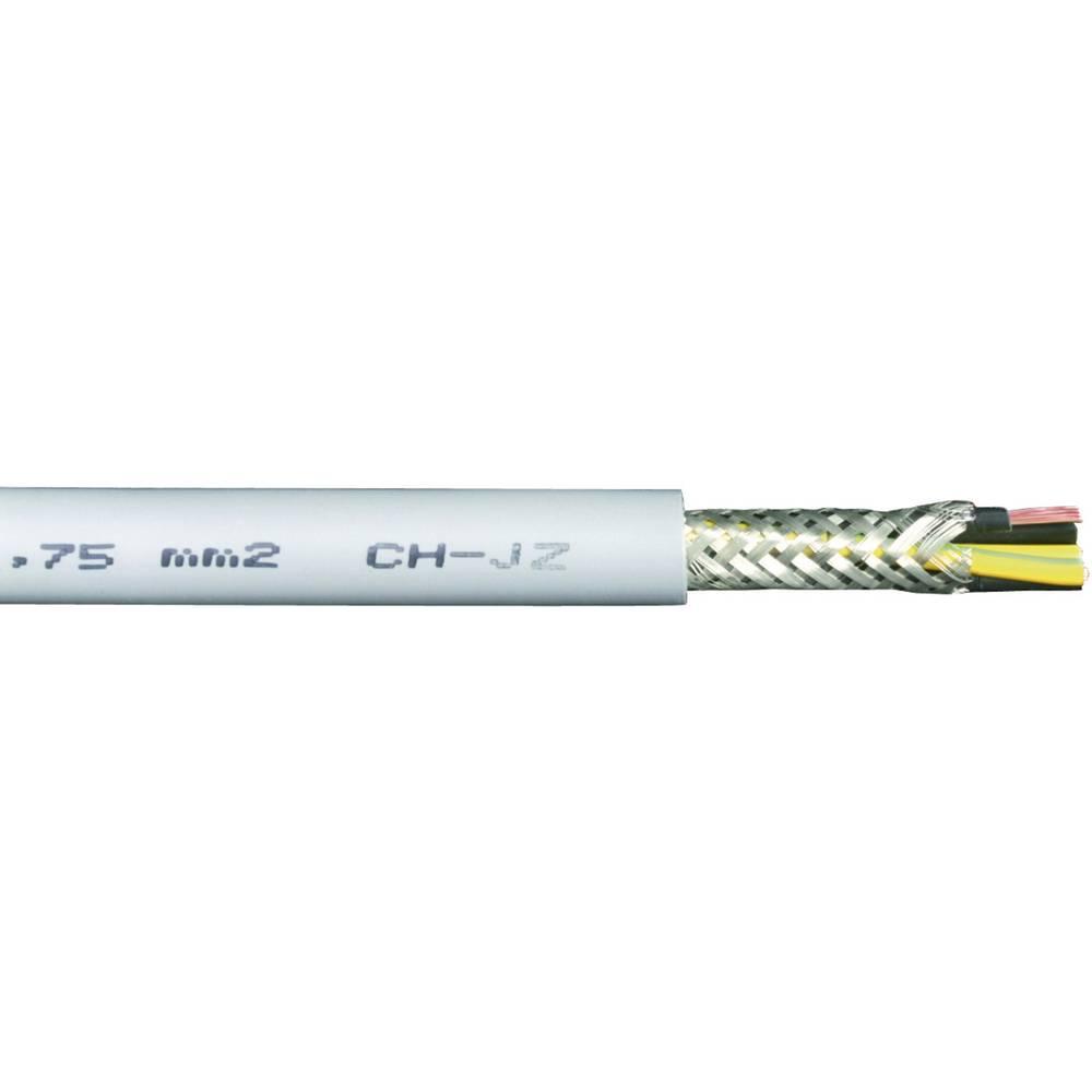 Krmilni kabel HSLCH-JZ 3 x 0.75 mm sive barve Faber Kabel 032749 meterski