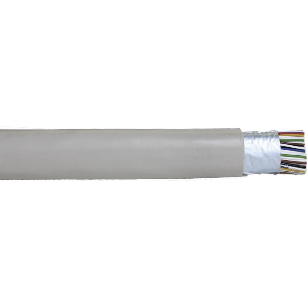 Telefonski kabel J-Y(ST)Y 10 x 2 x 0.28 mm sive barve Faber Kabel 100017 meterski