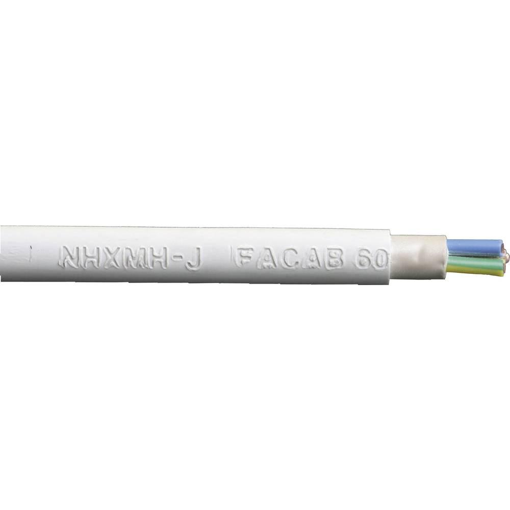Kabel s plaščem NHXMH-J 3 G 1.5 mm sive barve Faber Kabel 020185 meterski