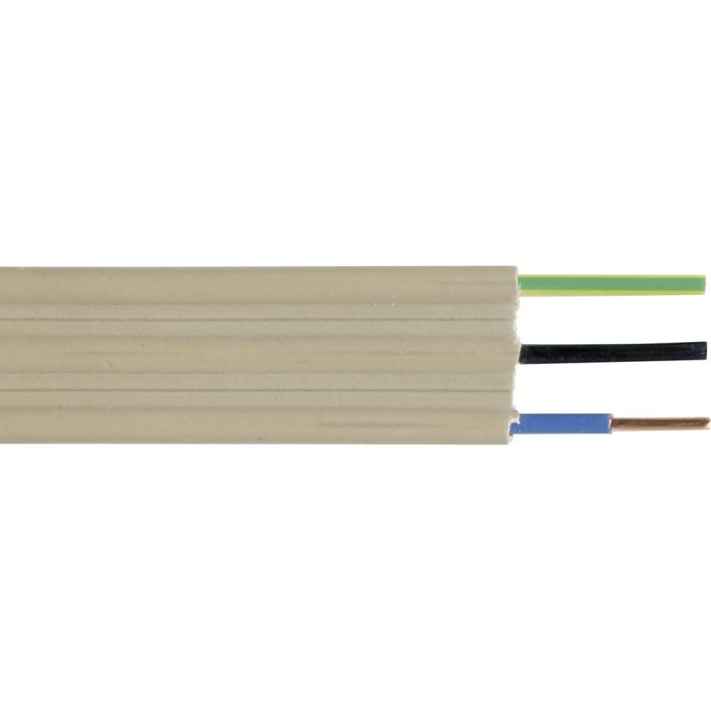 Tračni kabel NYIF-J 5 G 1.5 mm naravne barve Faber Kabel 020288 meterski
