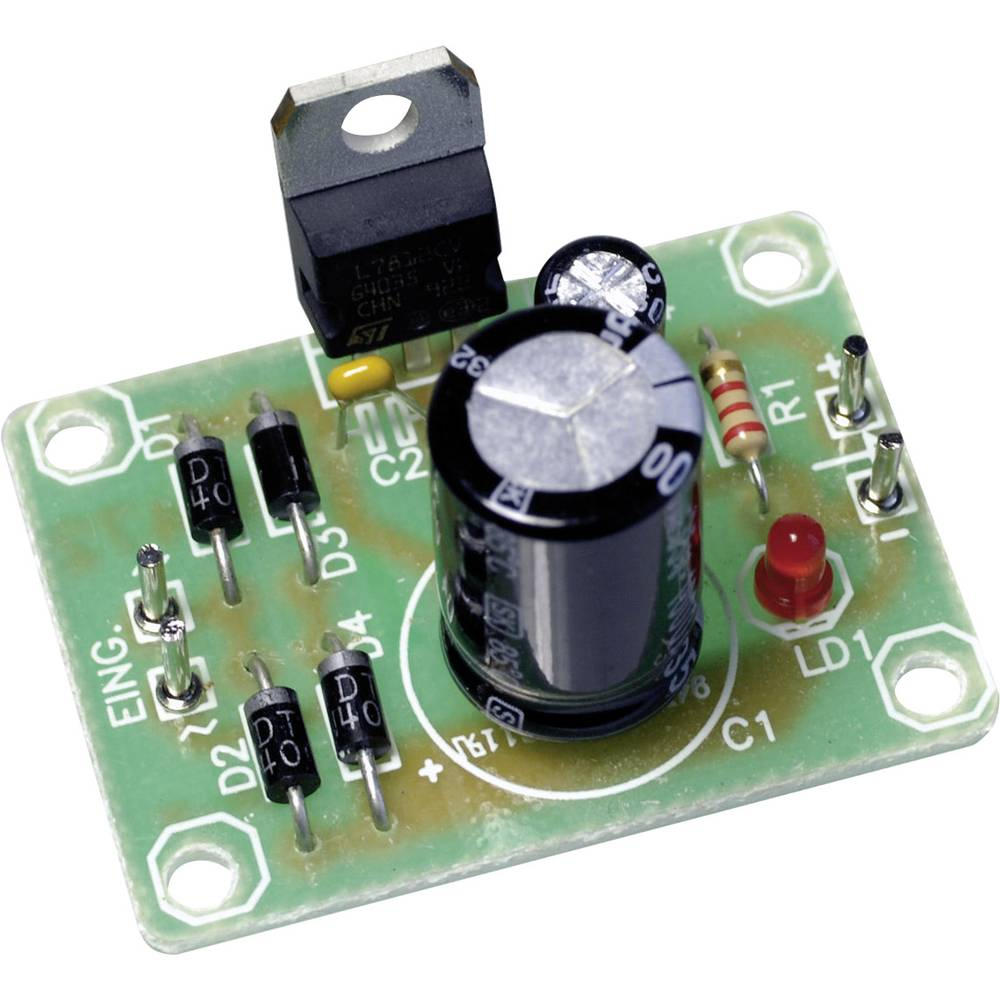 Napetostni regulator - tiskano vezje 115576