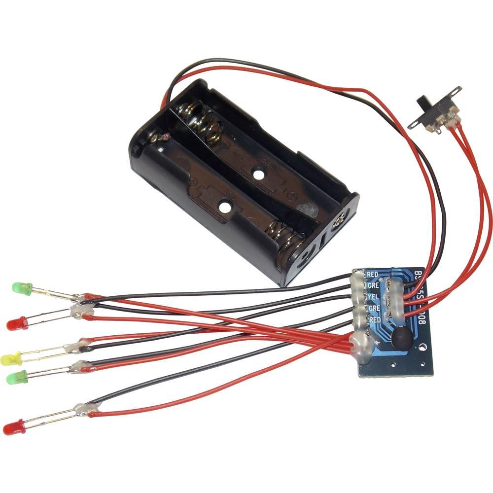 5-kanalni modul za LED trčeće svjetlo BSH25SM-008 Conrad 3 V/DC Komplet za sastavljanje