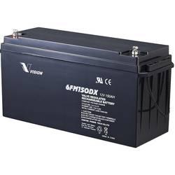 Vision Akkus FM-Serie 6FM150DX solarni akumulator 12 V 150 Ah svinčevo-koprenast (Š x V x G) 485 x 240 x 172 mm m8-vijačni prikl