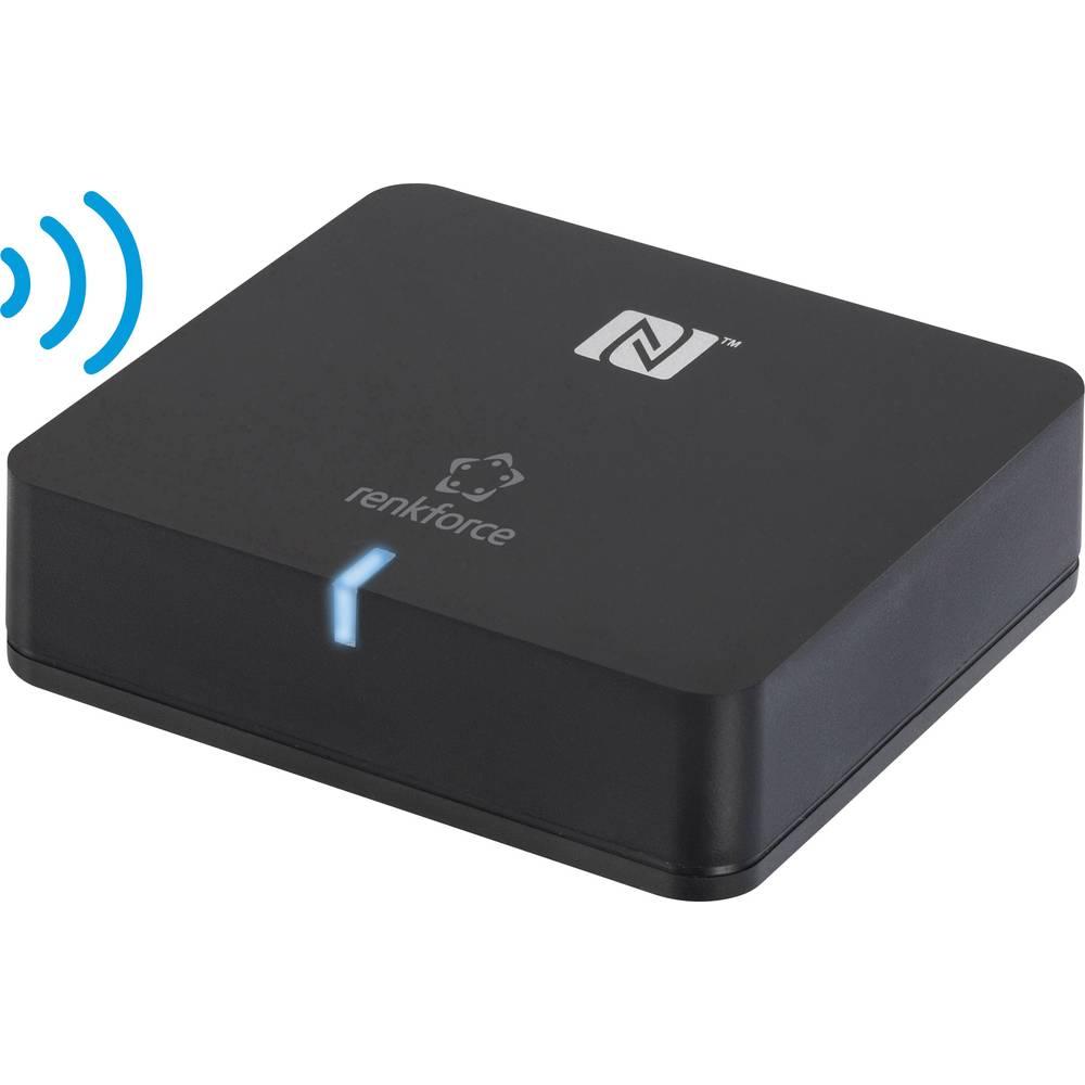 Bluetooth glazbeni prijamnik Renkforce Bluetooth verzija: 3.0 + EDR, A2DP 10m APTX tehnologija podržava NFC prijenos