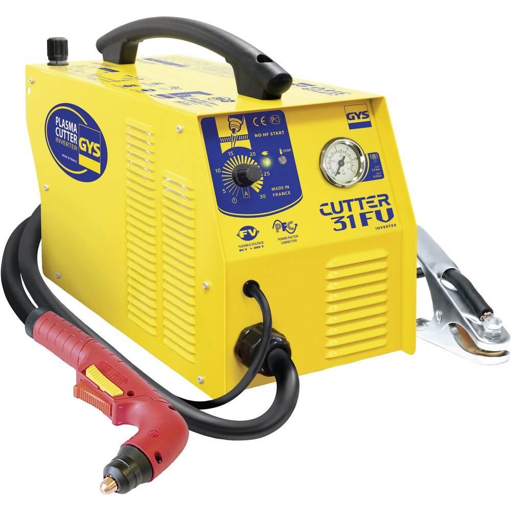 GYS inverterski plazemski rezalnik PLASMA CUTTER 31 FV 030985 delovna napetost 230 V/50 Hz